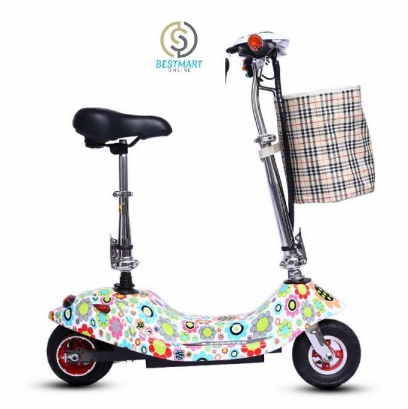 Phân phối Xe scooter điện tải trọng 120kg 24V (có giỏ xách) BestMart