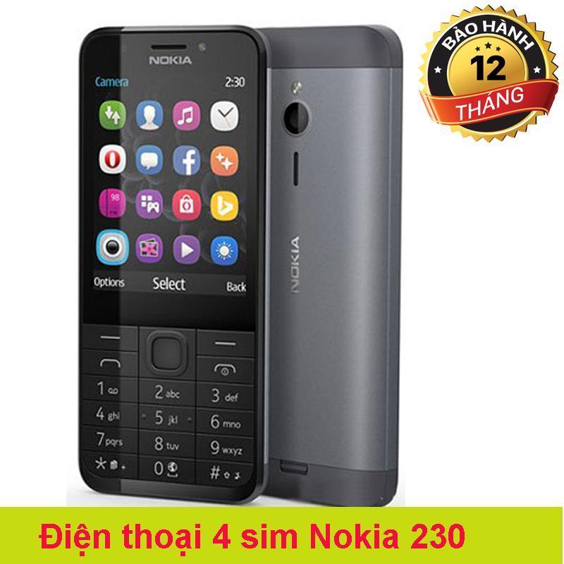 Điện thoại 4 sim 2 thẻ nhớ 230 giá rẻ