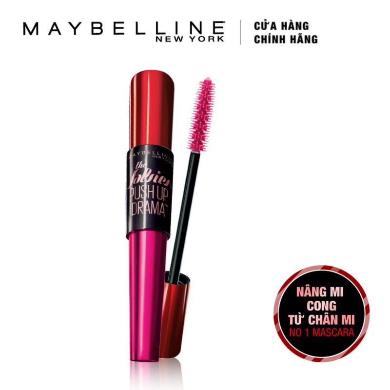 Mascara Maybelline New York nâng mi Push Up Drama (Đen)