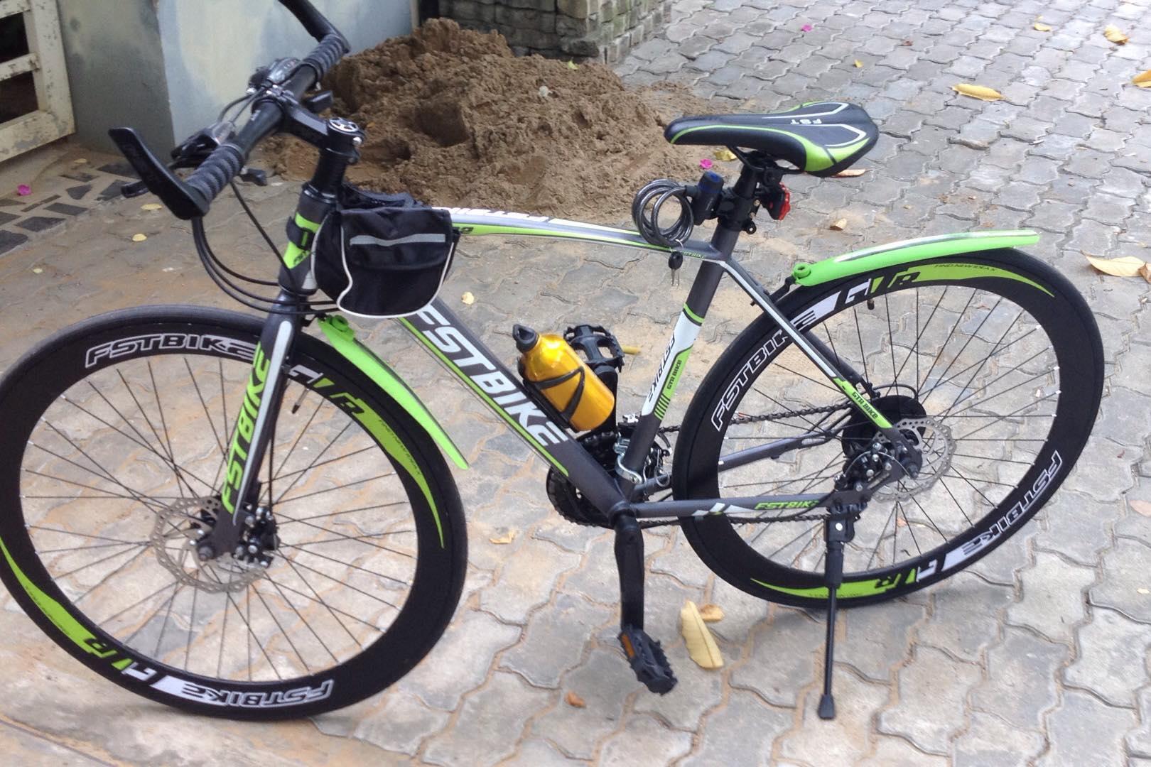 Xe đạp thể thao FST GT 002 Cổ thẳng và cong