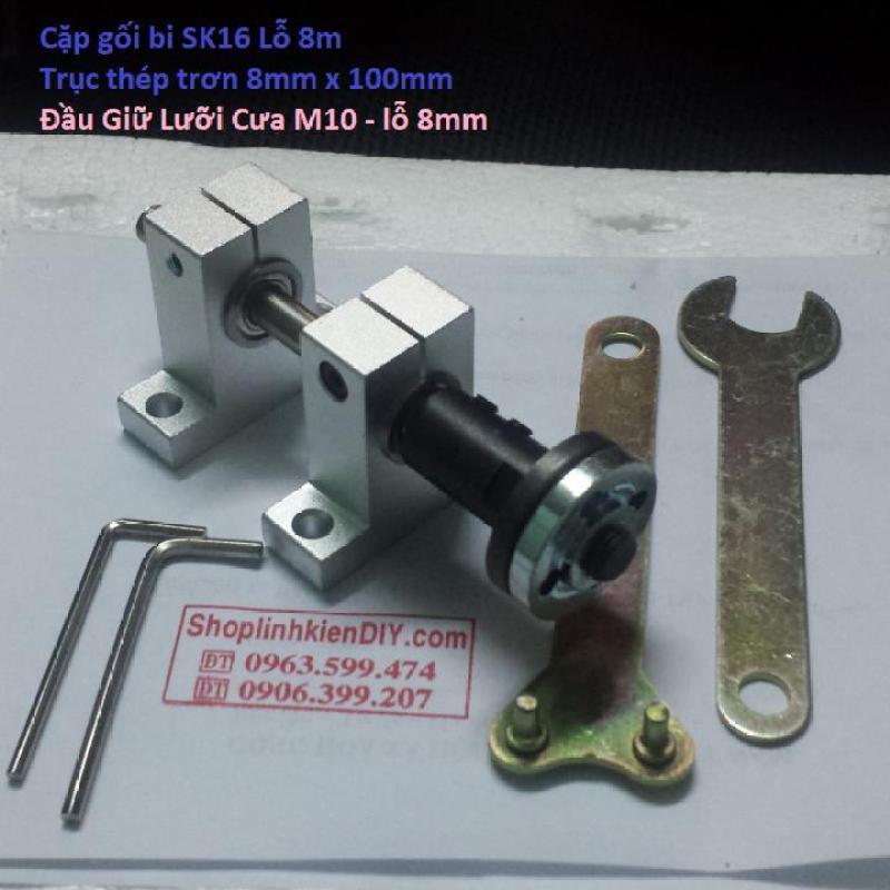 bộ trục máy cưa mini