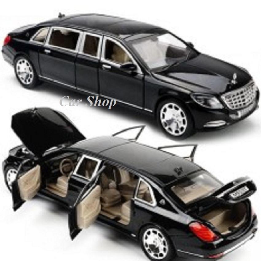 Hình ảnh XE MÔ HÌNH SẮT -Xe mô hình siêu xe Maybach tỉ lệ 1:24 giá rẻ