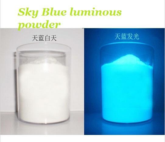 Mua 20 gram Bột dạ quang phát sáng trang trí (xanh ngọc)