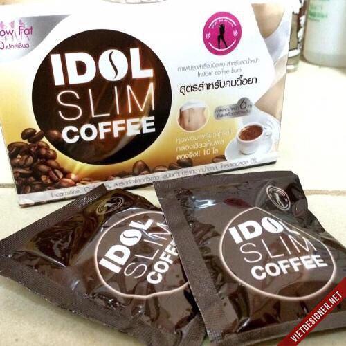 hộp 10 gói  café giảm béo idol slim 150Gm /1 gói