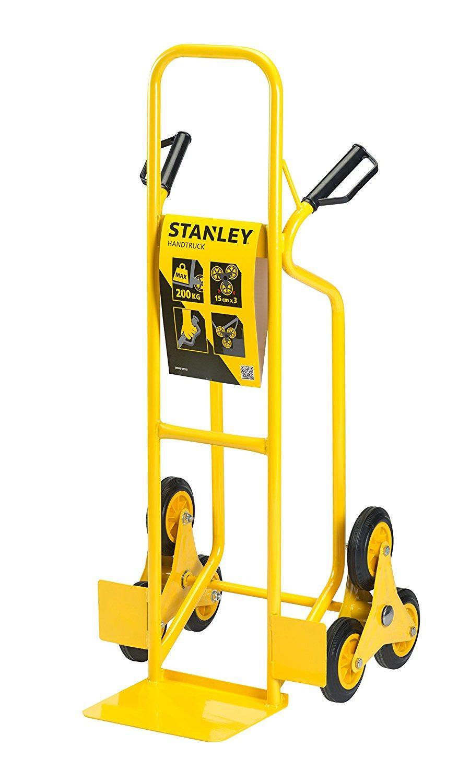 Xe đẩy tay leo cầu thang cao cấp Stanley HT523 (tải trọng 200kg).