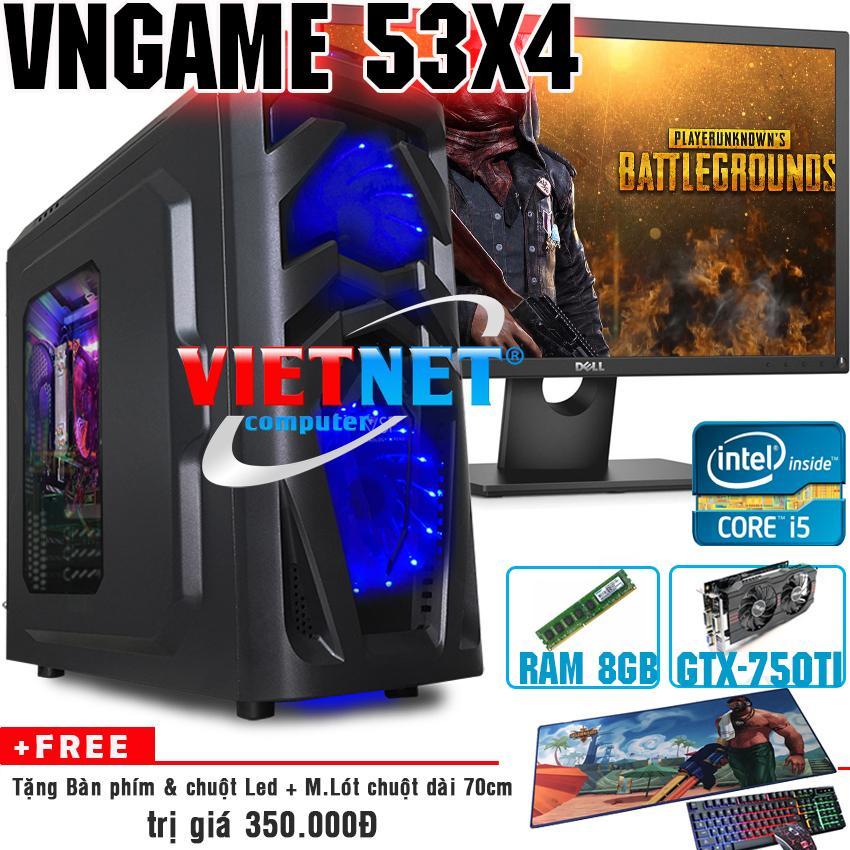 Giá Bán May Tinh Chiến Game Vngame 53X4 I5 3470 Gtx750Ti 8Gb 500Gb Dell 22Inch Trong Hồ Chí Minh