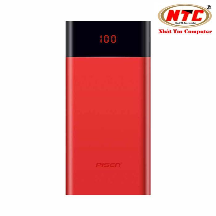 Giá Bán Pin Sạc Dự Phong Pisen Lcd Ts D212 10000Mah 2 Cổng Output Version 2 Model 2018 Đỏ Pisen Hồ Chí Minh