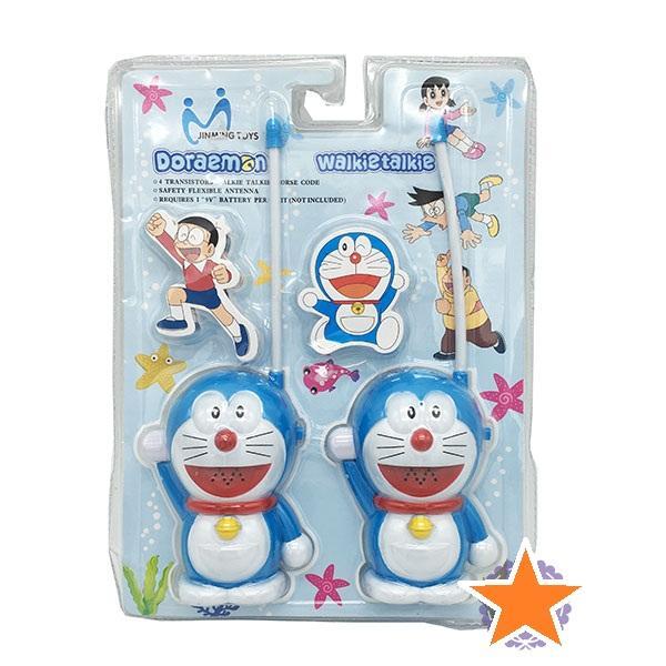 Hình ảnh Vỉ đồ chơi 2 bộ đàm cầm tay Doraemon (pin) PDL