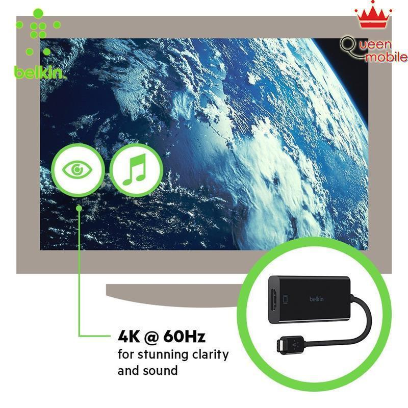 Cáp Belkin tiện lợi chuyển đổi Video cổng chuyển 3.0 USB-C to HDMI, 14 cm – F2CU038bt [BELKIN], Giá tốt: 1.457.000 ₫