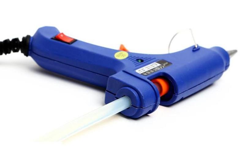 Combo 05 Sung bắn keo silicon 20w tặng kèm 200 cây keo nến dài 250mm