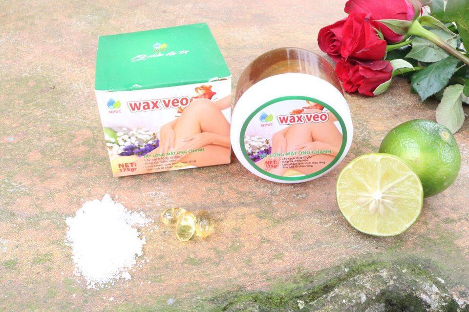 Sáp Wax Lông Mật Ong (2 Hộp Kèm Que và Giấy) - Sạch Lông Tận Gốc tốt nhất