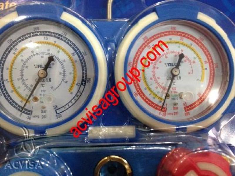 Bảng giá ĐỒNG HỒ NẠP GAS ĐÔI VALUE VMG-2-R410A-B-03 Điện máy Pico