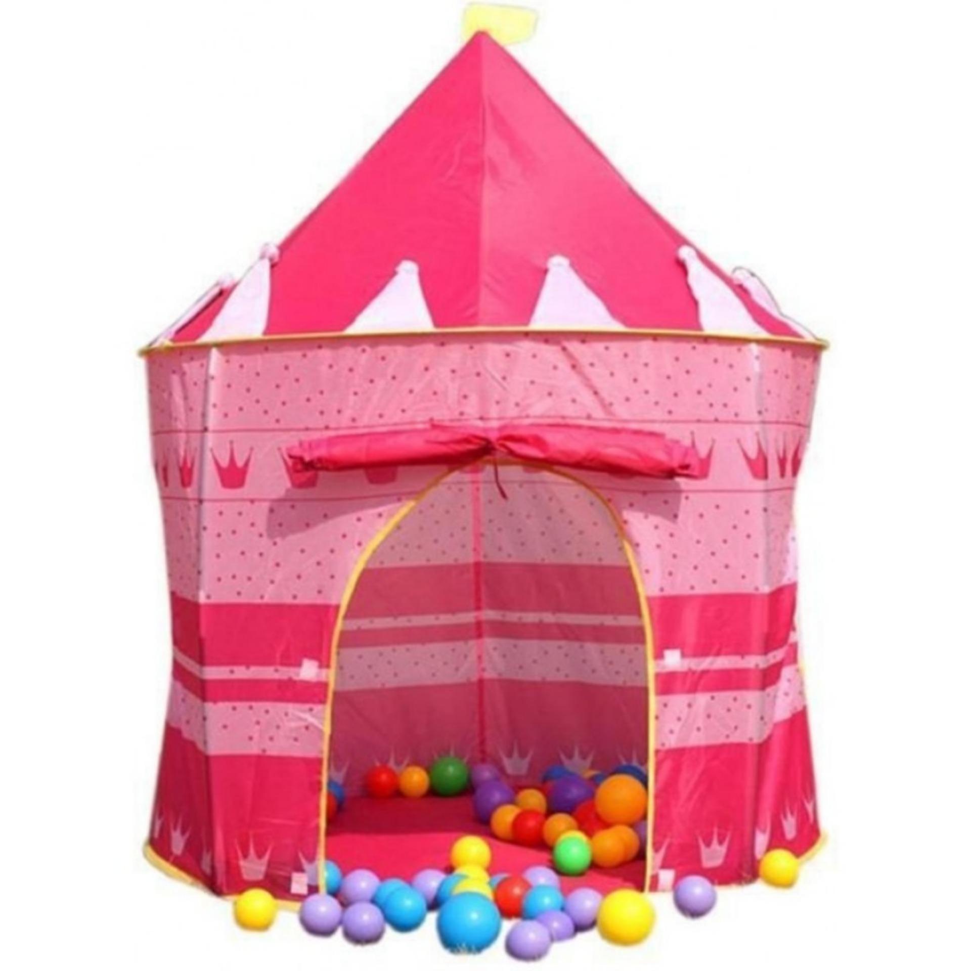 Hình ảnh Lều bóng công chúa hoàng tử_Lều công chúa hồng