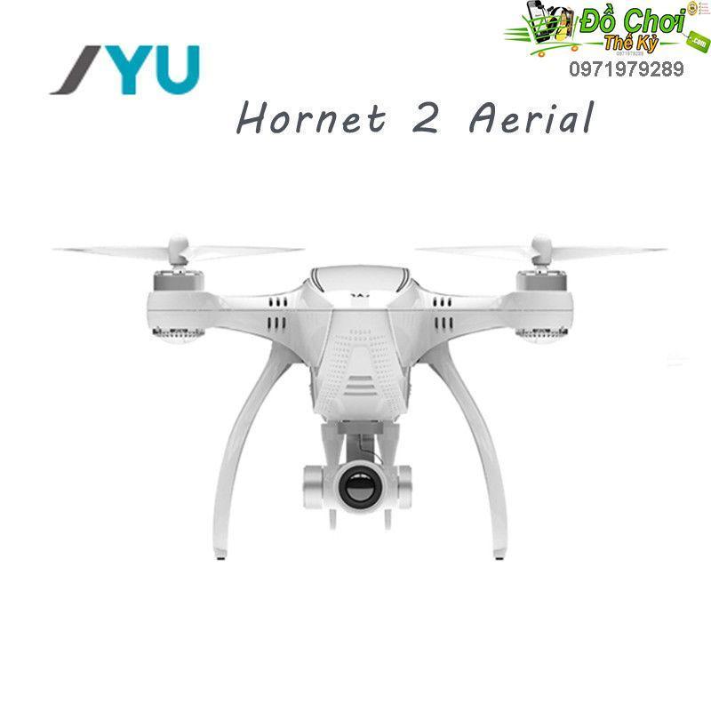 Flycam JYU Hornet 2 Racing 5.8 Gam FPV Với 4 K Camera HD-Axis Gimbal RC Quadcopter RTF