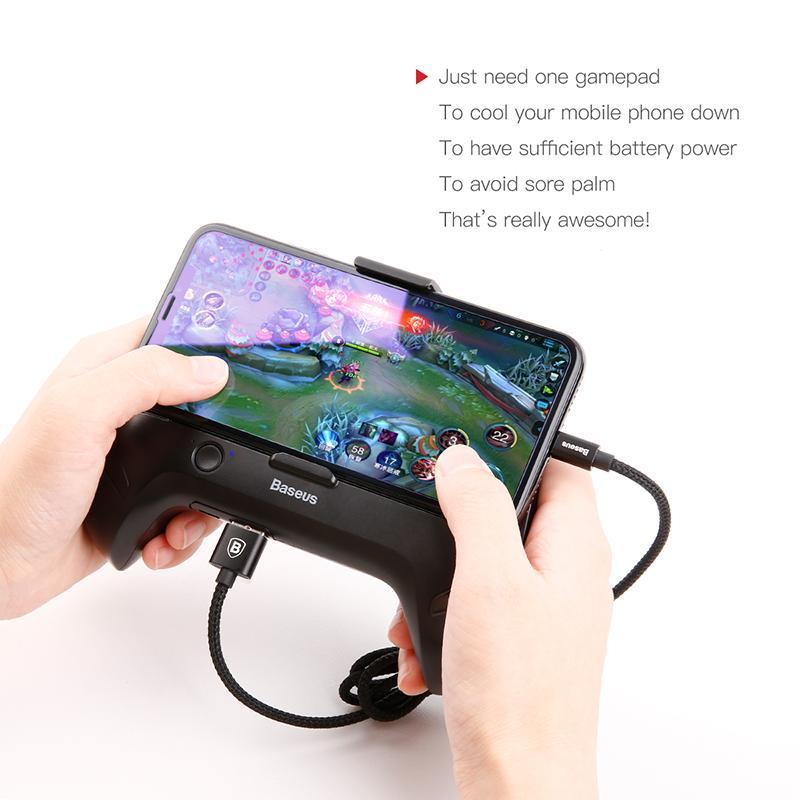 Hình ảnh Tay cầm cho game thủ chuyên nghiệp có quạt tản nhiệt kiêm sạc dự phòng cho smartphone thương hiệu Baseus