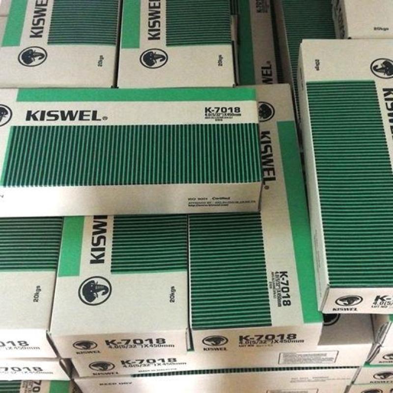 Que hàn chịu lực K7018 Kiswel - 3.2mm