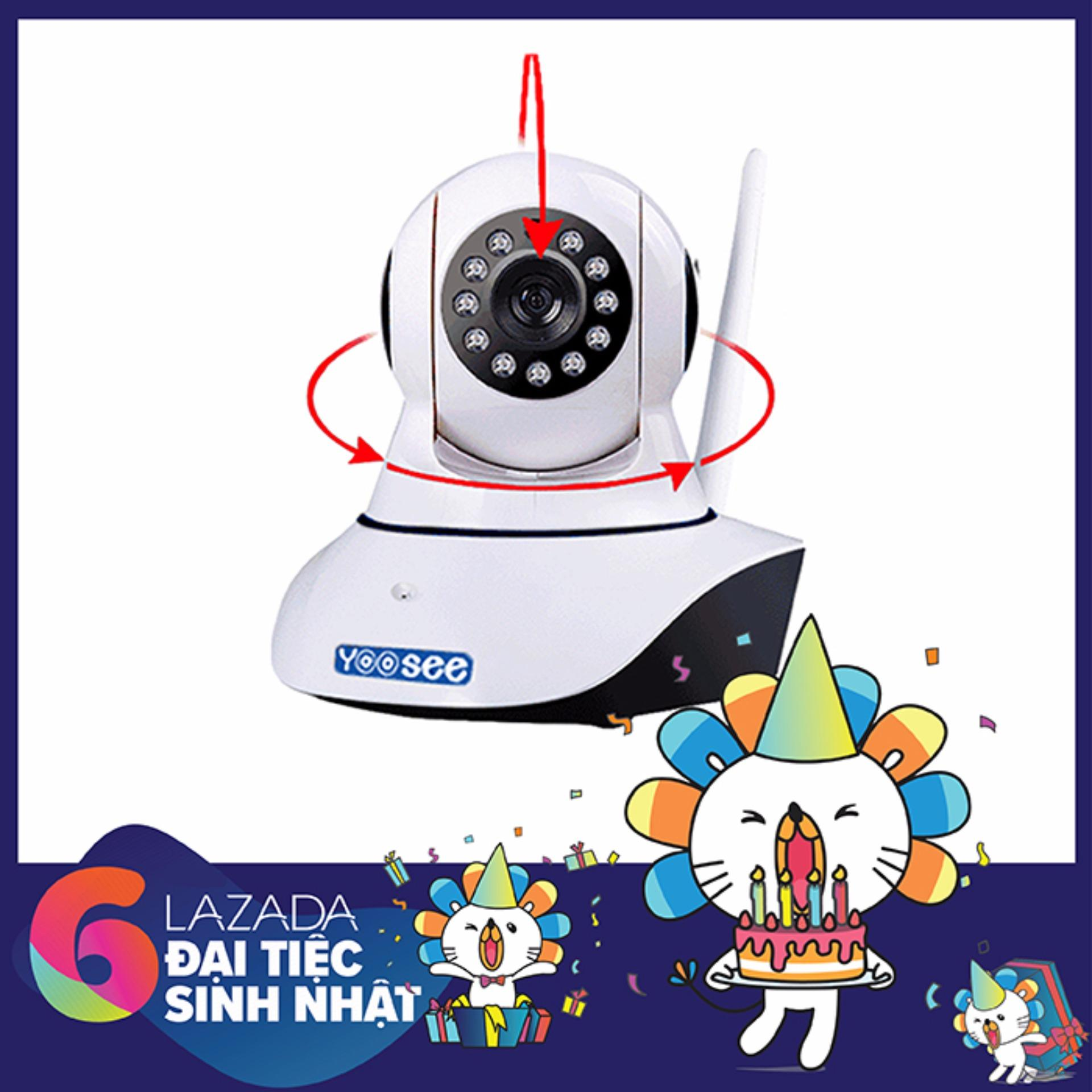 Bán Bộ Camera An Ninh Ip Yoosee Ipc Z06H 2 Anten 960P Hd Wifi Bao Động Bảo Hanh 12 Thang Có Thương Hiệu Nguyên