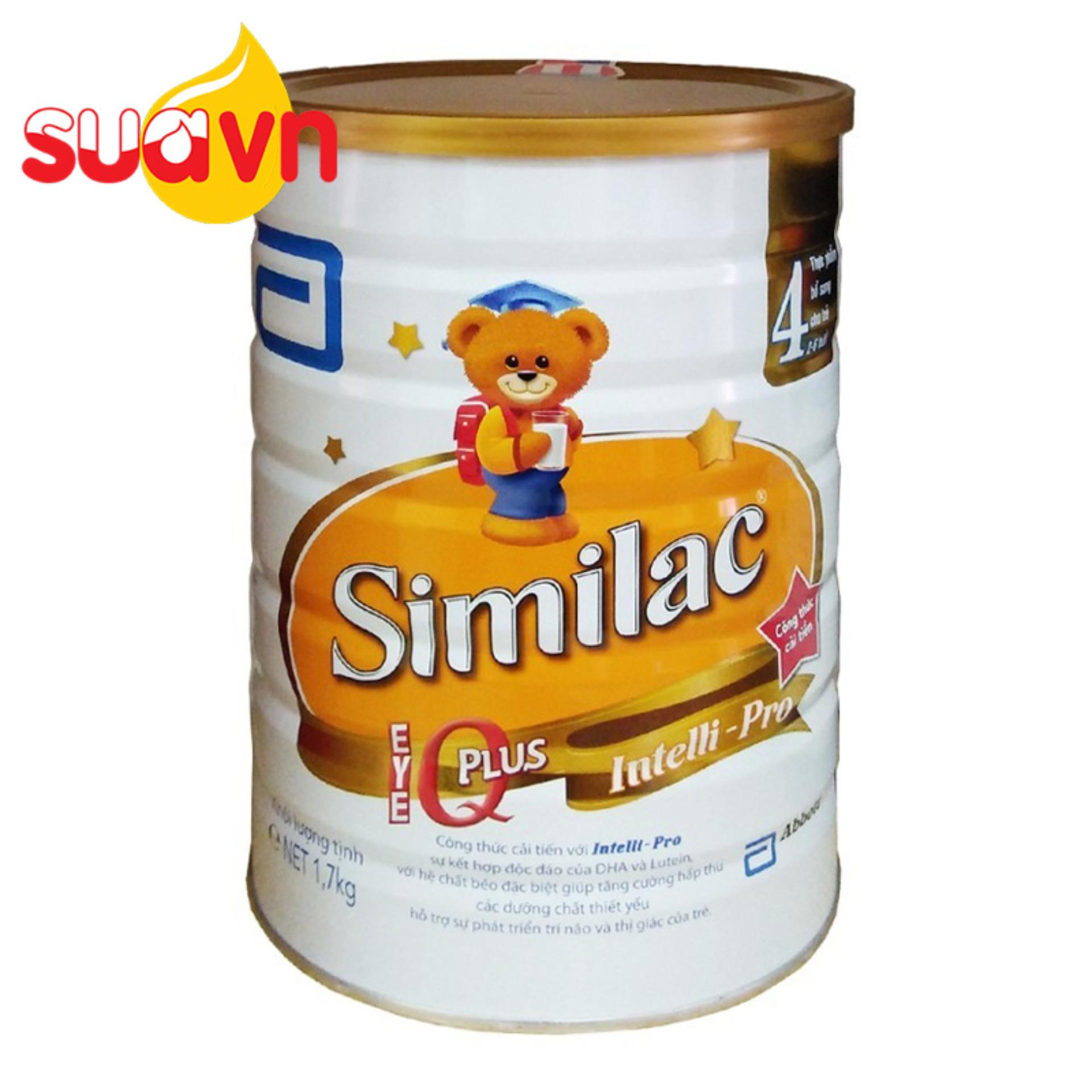 Ôn Tập Sữa Similac Gain Kid Iq 4 1 7Kg Mới Nhất