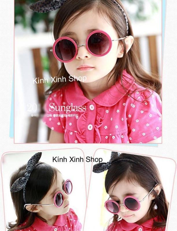 Mua Kính râm Mắt tròn trẻ em KOCOTREE - Mắt kính Phân cực Hàn Quốc