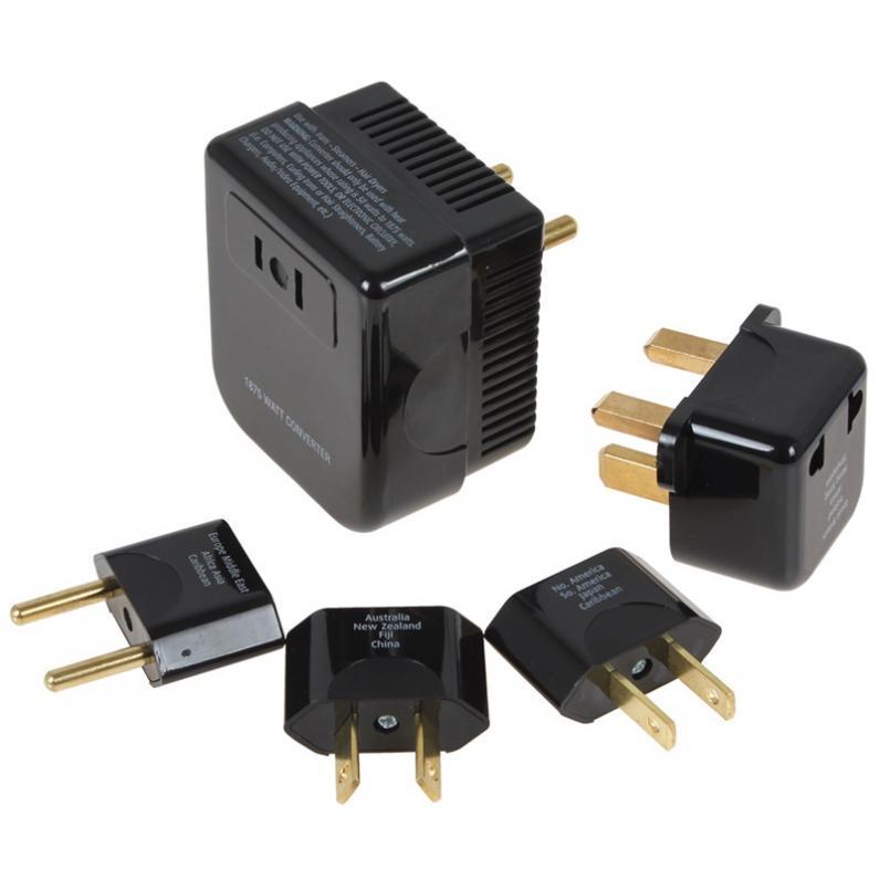 Đa Năng 4 trong 1 năm 220/240 v đến 110/120 v Bộ Chuyển Đổi và Cắm Bộ Adapter