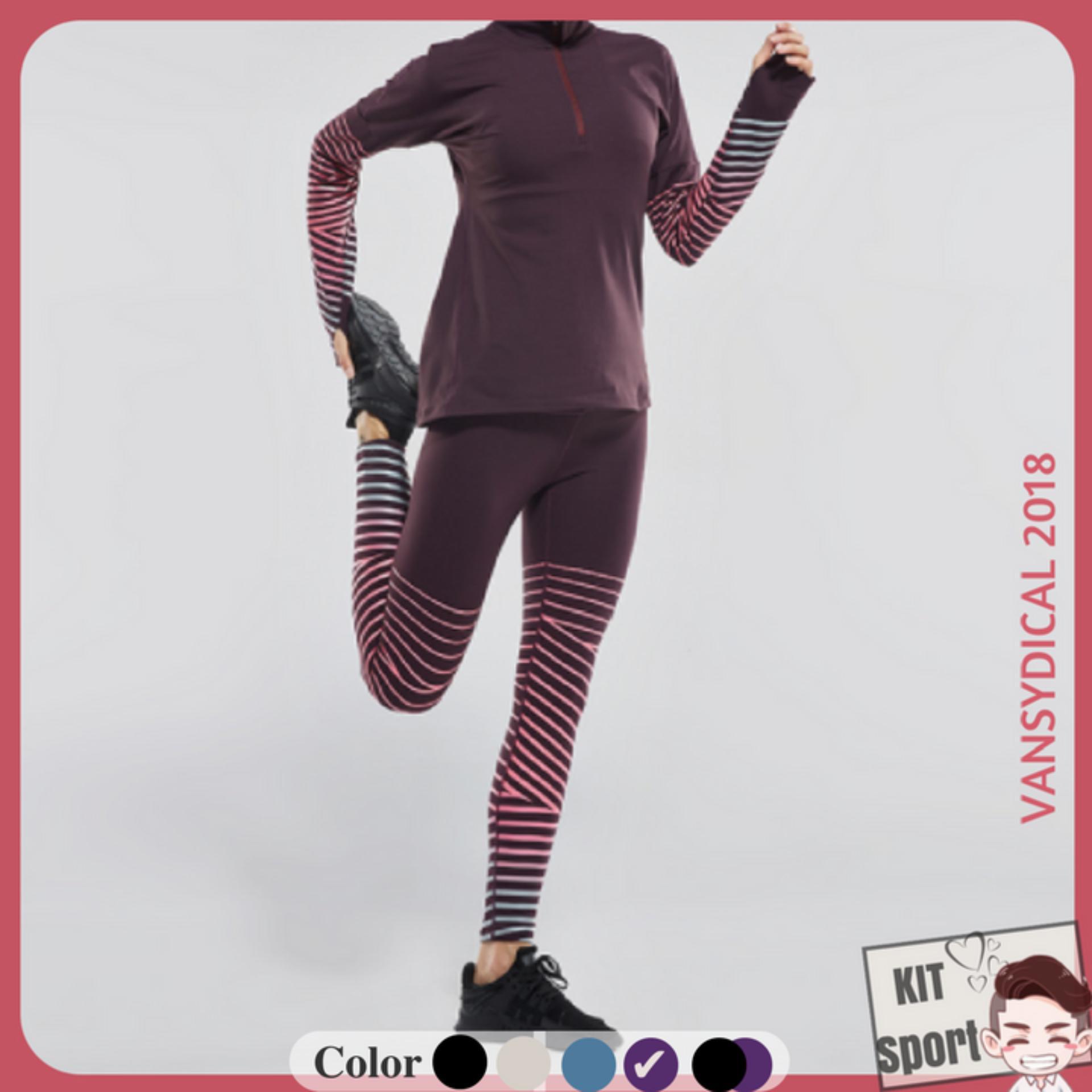 Bán Quần Dai Legging Thể Thao Nữ Snake Hiệu Vansydical Hang Nhập Khẩu Đồ Tập Thể Thao Tập Gym Thể Dục Thể Hinh Yoga Kit Sport Kit Sport Đồ Tập Chính Hãng Nguyên