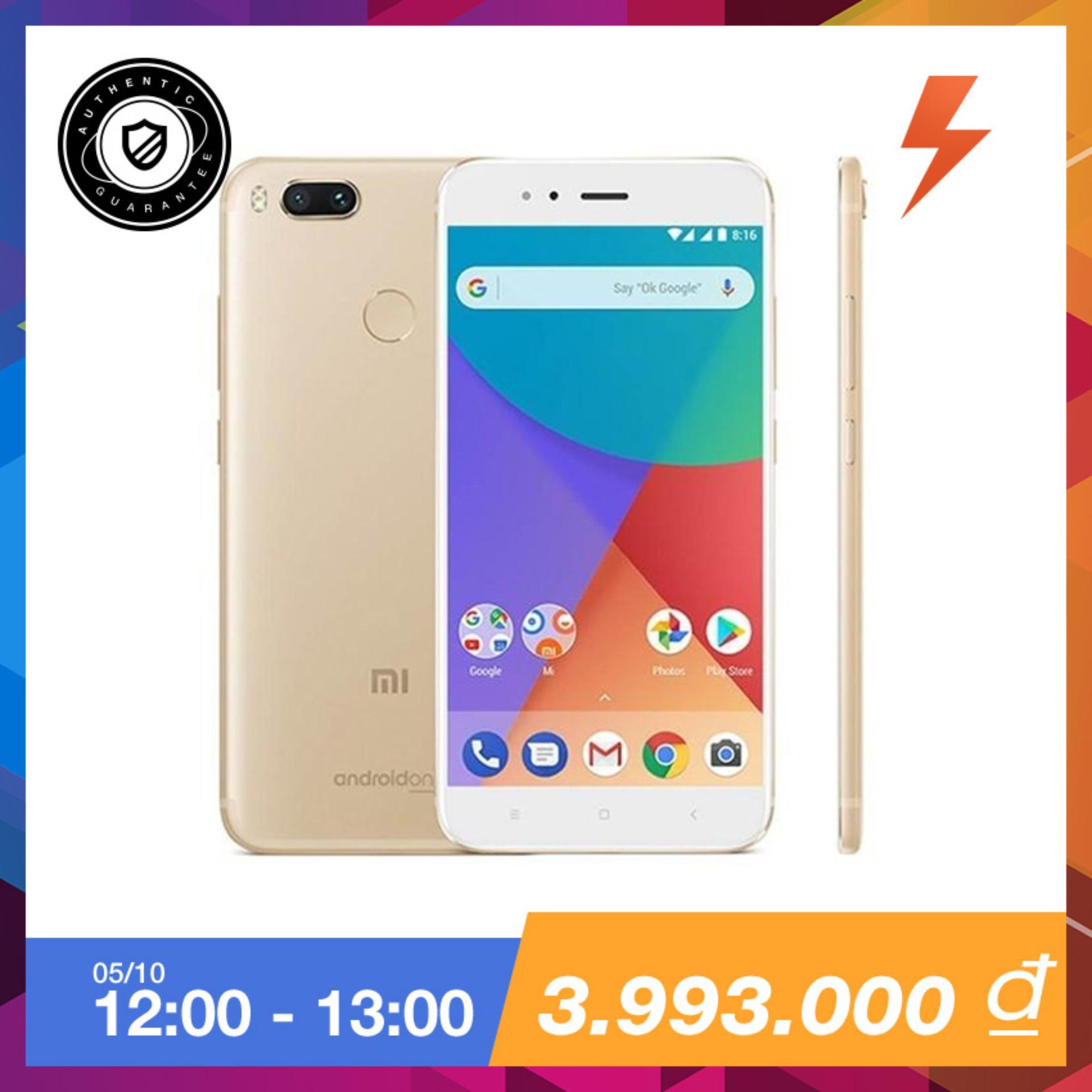 Xiaomi Mi A1 32Gb Ram 4Gb Duo Camera Vang Tặng Tai Nghe Xiaomi Bluetooth Headset Trị Gia 199 000 Vnđ Hang Phan Phối Chinh Thức Hồ Chí Minh Chiết Khấu 50