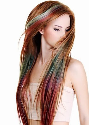 Bộ phấn nhuộm tóc màu Hot Huez 5
