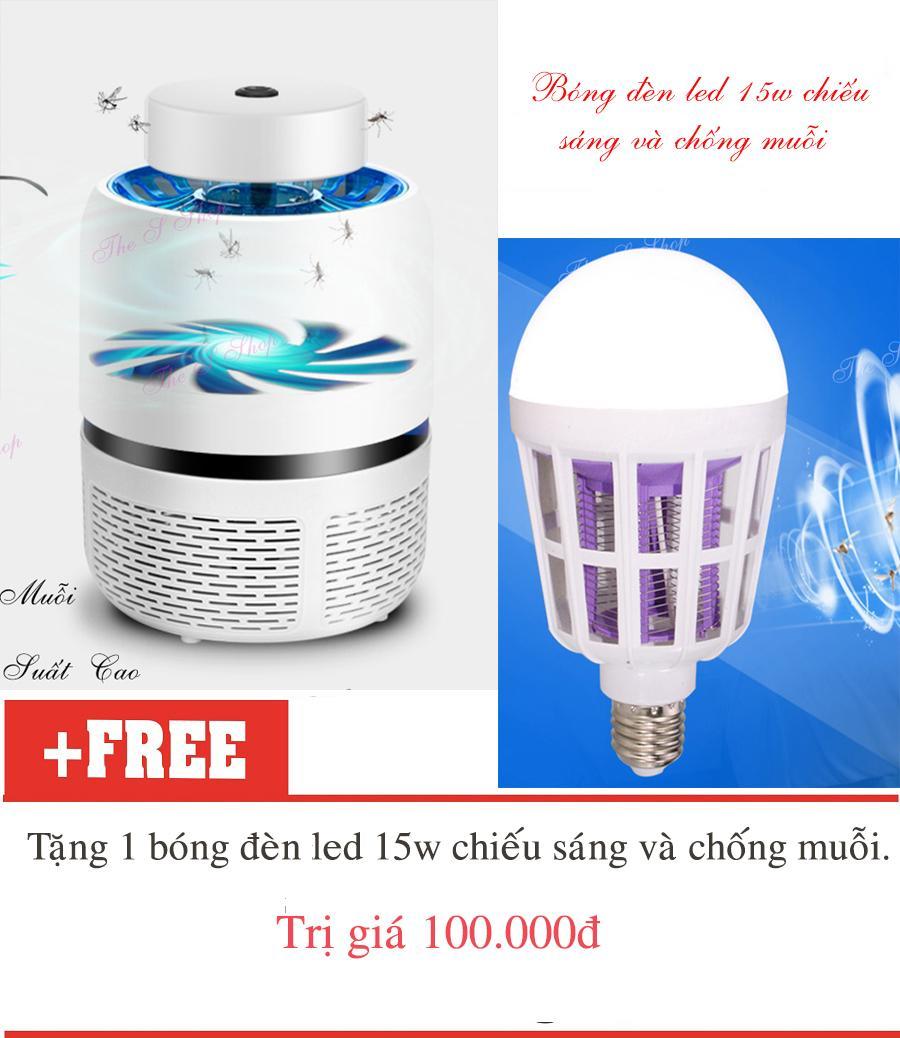 Máy bắt muỗi bằng tia UV và Tio2 Eddrac (Hàng chất lượng cao KHÔNG Giá Rẻ)
