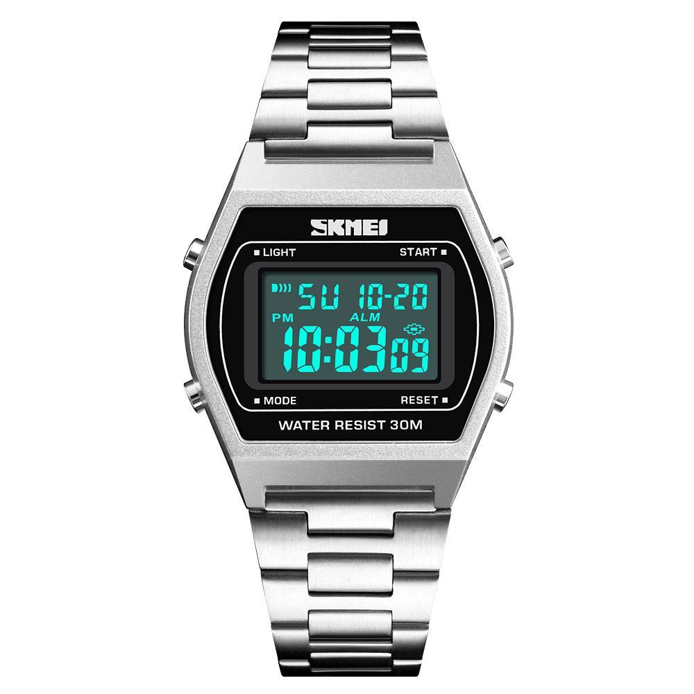 SKMEI Luxury Brand Mens Sports Watches Waterproof Rose Gold Men Wrist Watch Electronic LED Digital Male Watch 1328 Malaysia