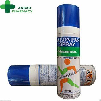 Salonpas Spray xịt giảm đau tại chỗ