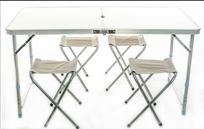 Bộ bàn ghế xếp gọn ngoài trời kiểu vali