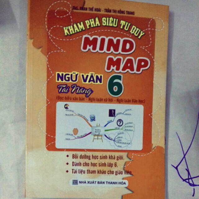 Mua Khám phá siêu tư duy Mind Map ngữ văn tài năng 6