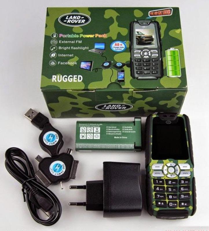 Điện thoại Land Rover XP3300 A8+ Pin 18000mah
