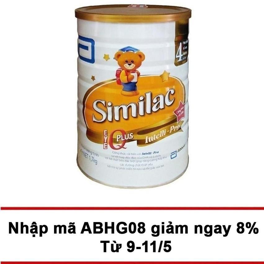 Sữa Bột Similac Iq 4 Hương Vani 1 7Kg Similac Chiết Khấu 30