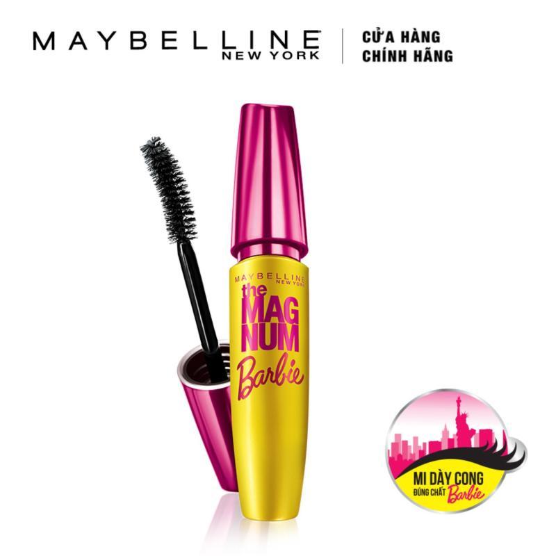 Mascara Maybelline làm dày và cong mi Magnum Barbie 9.2ml