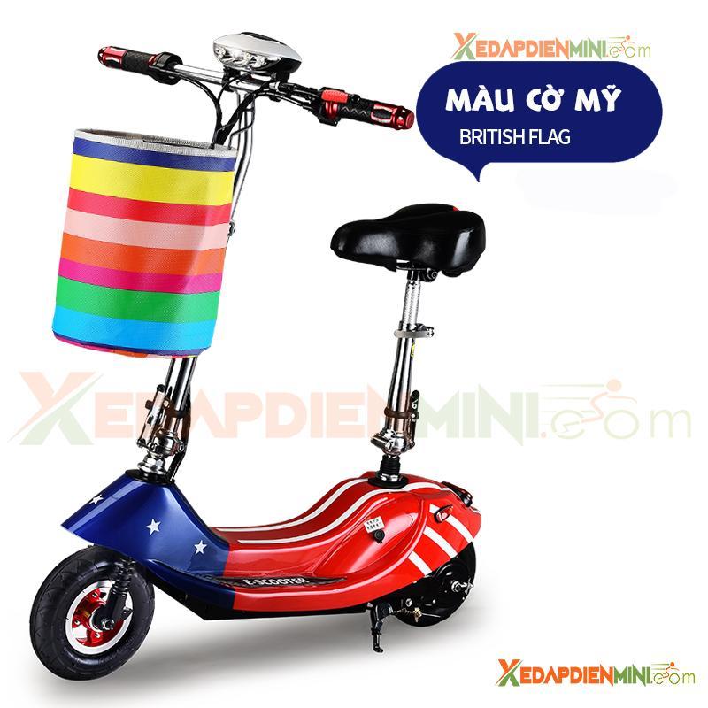 Hình ảnh Xe đạp điện mini E-Scooter 2018 - Xe điện mini giá rẻ