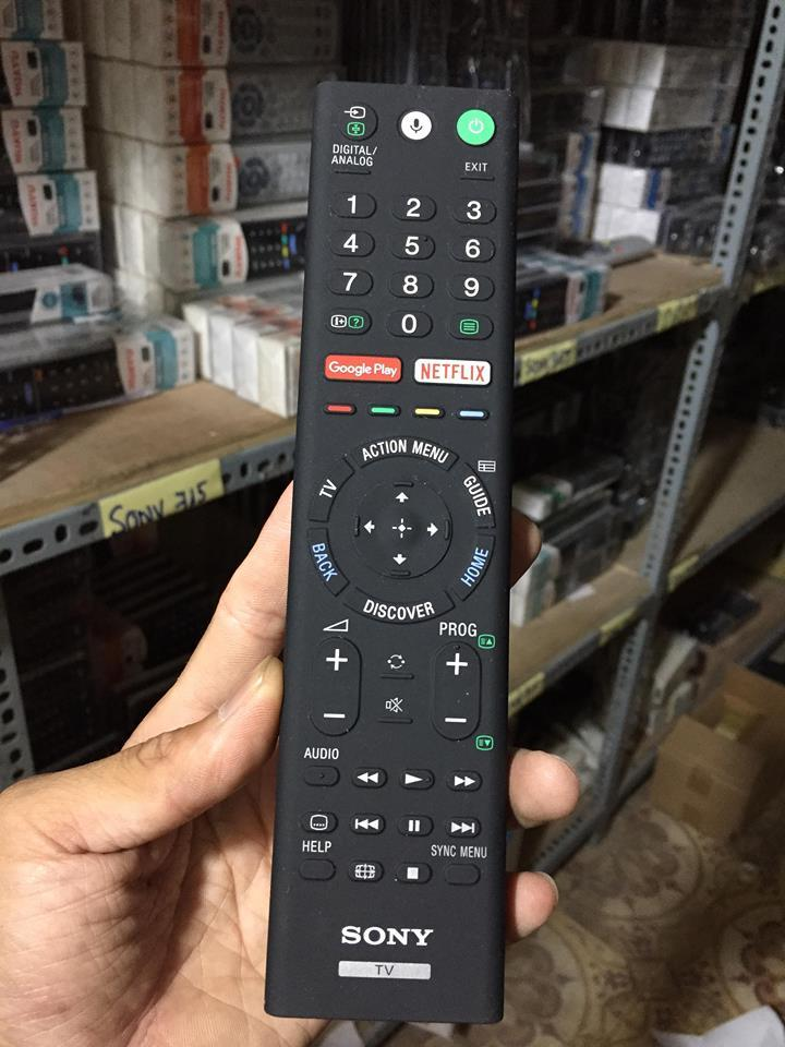 Hình ảnh Điều khiển tivi SONY BẰNG GIỌNG NÓI RMF TX 200P( HÀNG THEO MÁY)