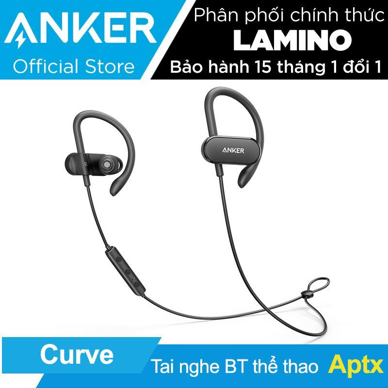Tai nghe nhét tai thể thao ANKER SoundBuds Curve - Hãng phân phối chính thức