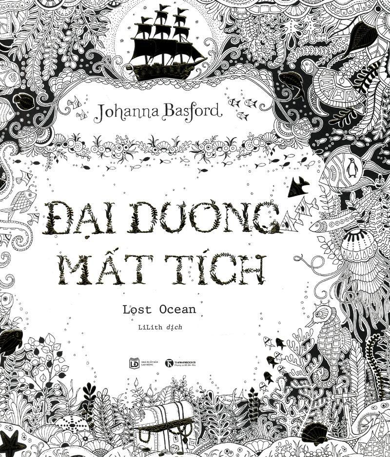 Mua Sách tô màu - Đại Dương Mất Tích (coloring book)