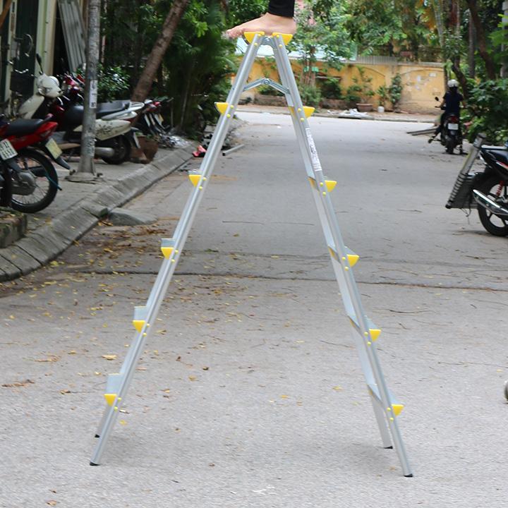 Thang nhôm chữ A NIKAWA NHẬT BẢN NKD06 - CAO 1,5m
