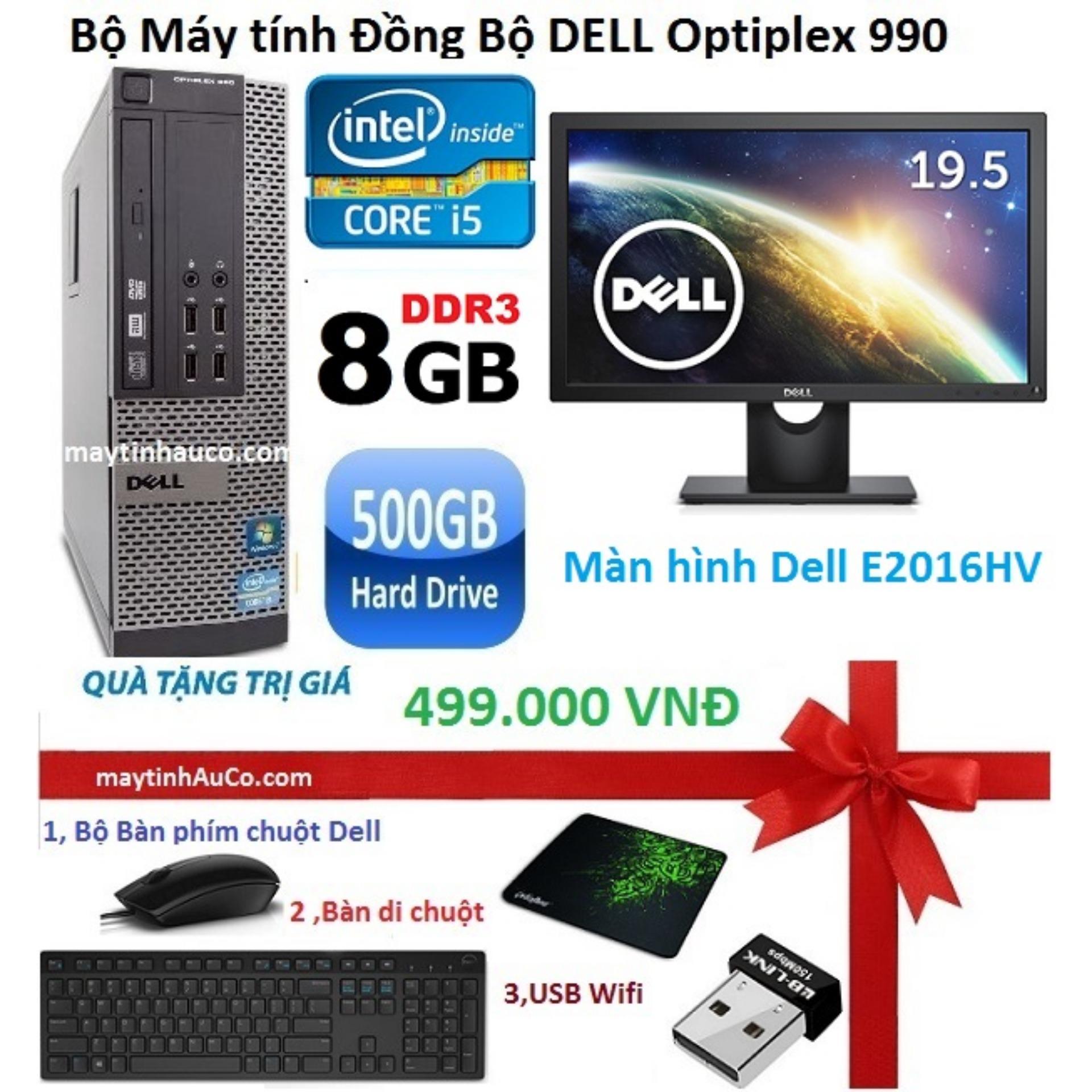 Máy tính đồng bộ Dell Optiplex 990 Intel Core i5 2400, RAM 8GB, HDD