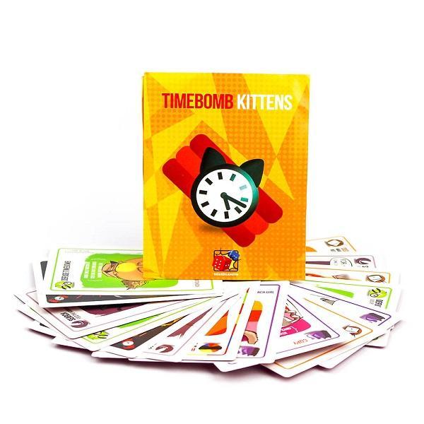 Hình ảnh Trò chơi Board Game BG27 Timebomb Kittens - Mèo Nổ Bản Mở Rộng #4
