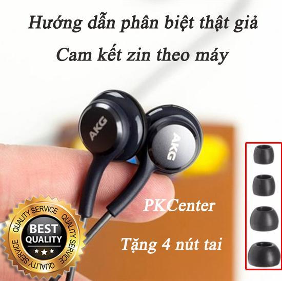 Mua Tai Nghe Samsung Galaxy S9 S9 Plus Akg Zin May Tặng 4 Nut Tai Phụ