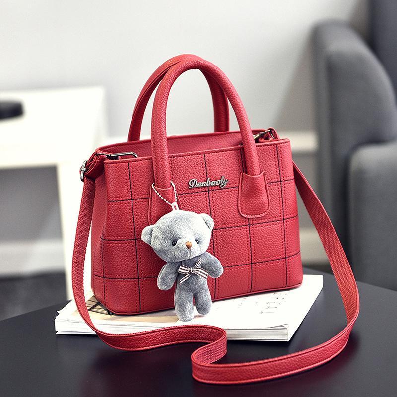 กระบี่ Bounabay ยี่ห้อกระเป๋าหญิงกระเป๋ากระเป๋าถือกระเป๋า messenger หญิงแฟชั่นกระเป๋าสะพายญี่ปุ่นและเกาหลีตารางแพคเกจขนาดเล็ก   สนามบินนานาชาติ