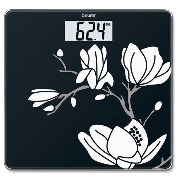 Cân sức khỏe điện tử mặt kính cường lực Beurer GS211 Magnolia chính hãng