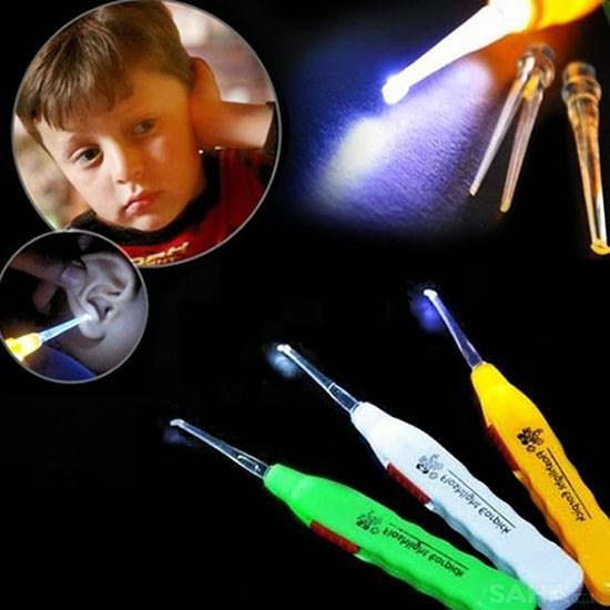 Hình ảnh Combo 3 Dụng cụ lấy ráy tai có đèn