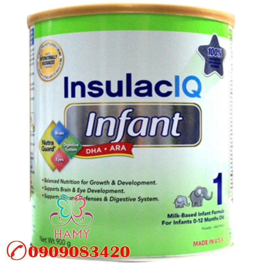 Sữa bột Insulac IQ Infant 900g (Mỹ) OEM – Review sản phẩm
