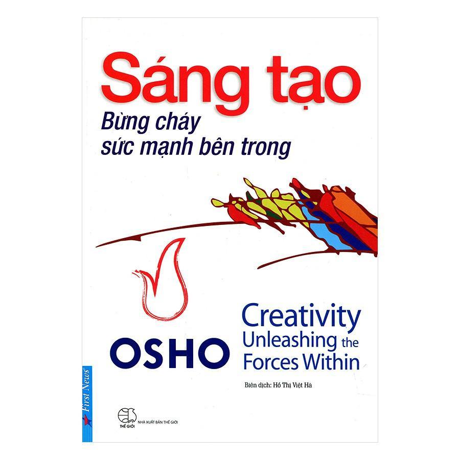 Mua Sách - OSHO - Sáng Tạo Bừng Cháy Sức Mạnh Bên Trong