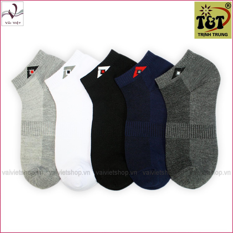 Hình ảnh Bộ 5 đôi vớ cổ ngắn (Vải Việt Shop)-Hãng phân phối chính thức