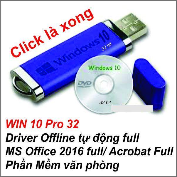 Hình ảnh USB BOOT Cài WIN 10 Pro 32 bit _ SOFT ALL